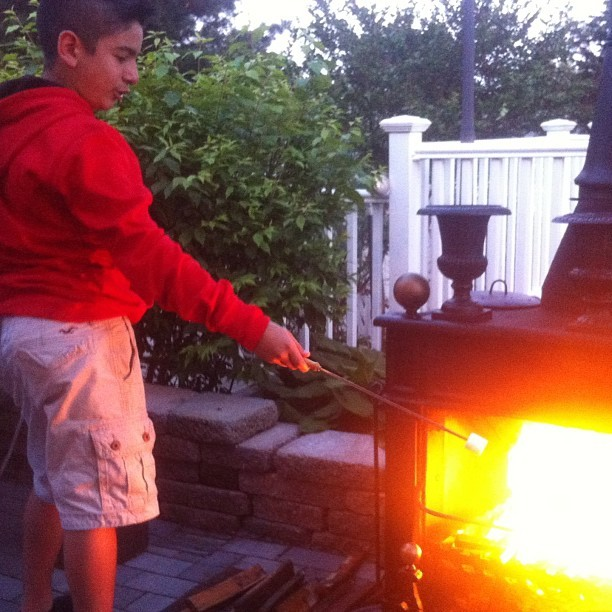 S'mores time @luch_sbp_soccer14