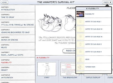 "Fantastic. Richard Williams' ""The Animator's Survival Kit"" now an iPad app #Animation #Education. More info here. Free Sample here"