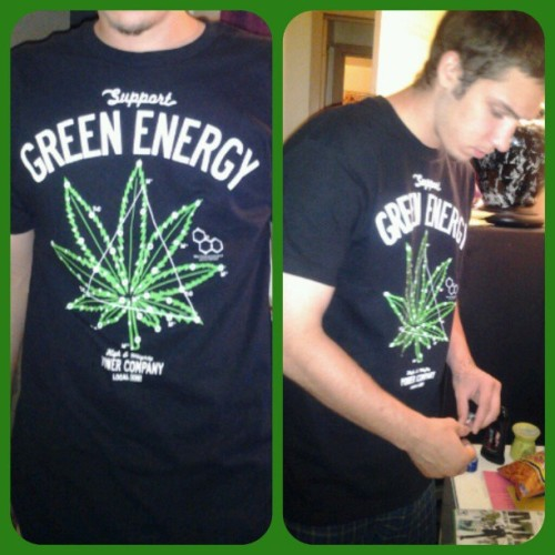 Mr. Sexy / Green Energy Enthusiast