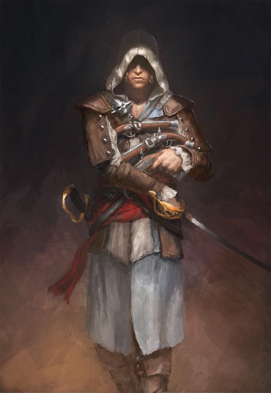 Assassin's Creed IV: Black Flag - Edward Kenway By B-Dunn
