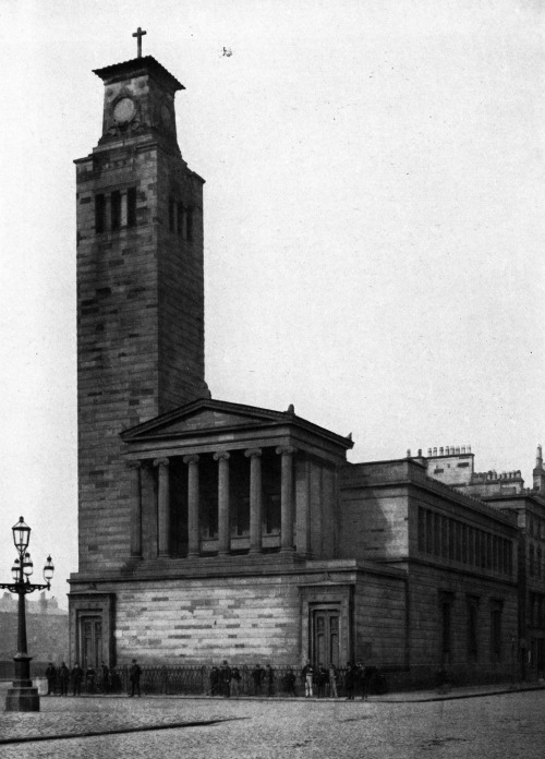 archiveofaffinities:  Alexander Thomson, Caledonia Road Free Church, Glasgow, 1856-1857  This building is now in a sad state. Such a shame.