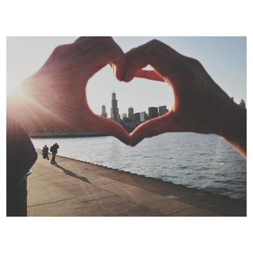 We ❤ You Chicago!  (at Skyline)
