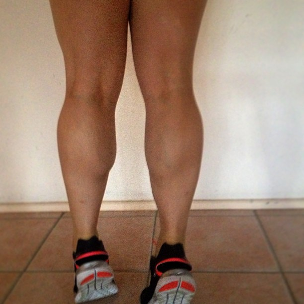 fifikianako:  Whew! Trained #legs today from 9am through to 2.30pm! Love how my #calves have finally popped and are getting more #defined #LegsDay #legs