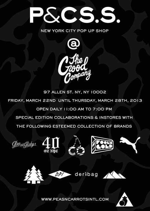 97allen:  P&CINTL pop up shop at The Good Company