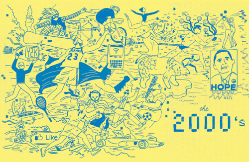 An opening editorial spread- summing up 2000-2010 for Italian sports company Dainese. Thanks to Fabrizio Festa at Church of London for the great assignment!