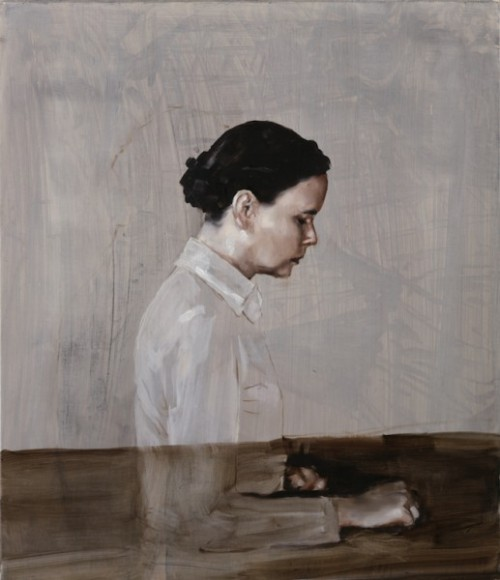 paperimages:  Michael Borremans, One