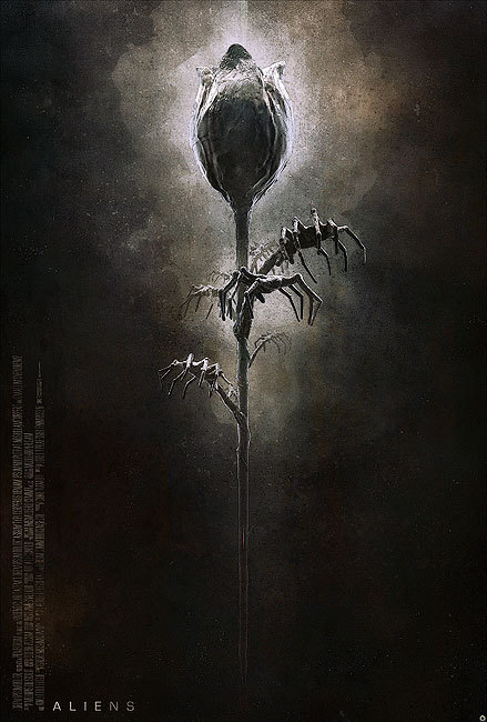 Poster for Alien by Tomasz Opasinski.
