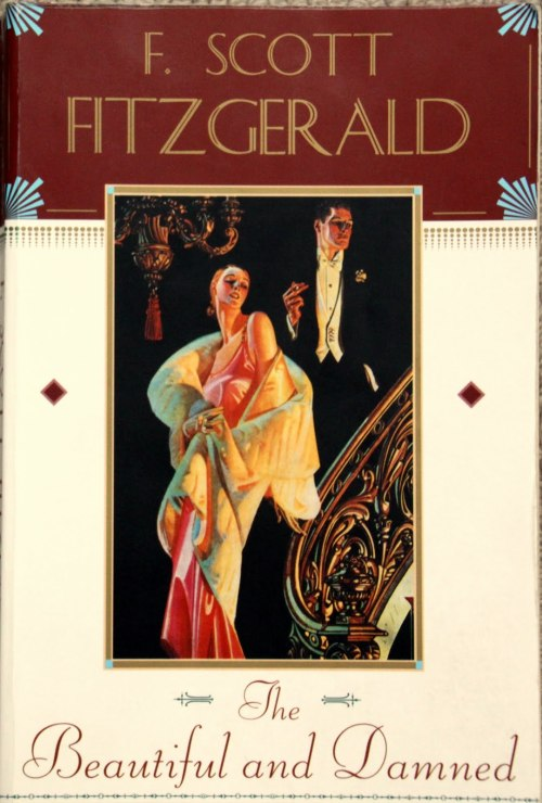 "bookmania:  ""The Beautiful and Damned"" by F. Scott Fitzgerald. First published in 1922, The Beautiful and Damned was F. Scott Fitzgerald's second novel. It tells the story of Anthony Patch (a 1920s socialite and presumptive heir to a tycoon's fortune), his relationship with his wife Gloria, his service in the army, and alcoholism. The novel provides an excellent portrait of the Eastern elite as the Jazz Age begins its ascent, engulfing all classes into what will soon be known as Café Society. The book is believed to be largely based on Fitzgerald's relationship and marriage with Zelda Fitzgerald."