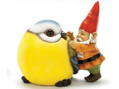 Small gnome or large tit?