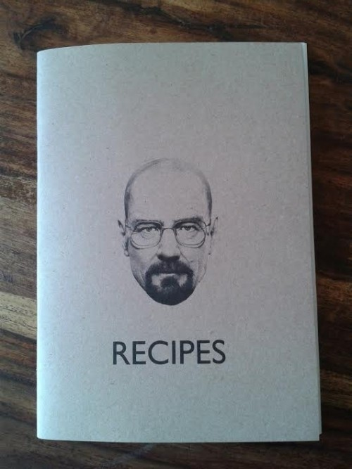 Very happy with my new recipes notebook! Let's get cooking!