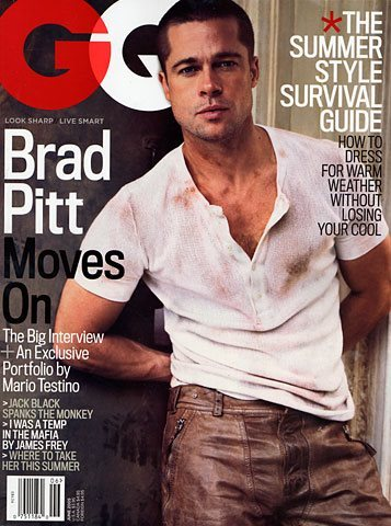 Throwback Thursday: Brad Pitt for GQ, June 2005