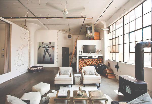 style bedroom design Home city rustic architecture urban Interior