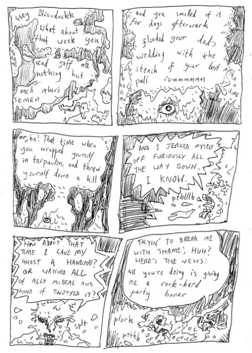 Bludnekk the BaraBarian page 36Better than a Batman comic about owls. It all starts here.