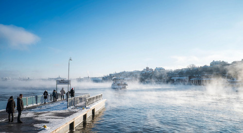 Smoke on the water by joeriksson on Flickr.