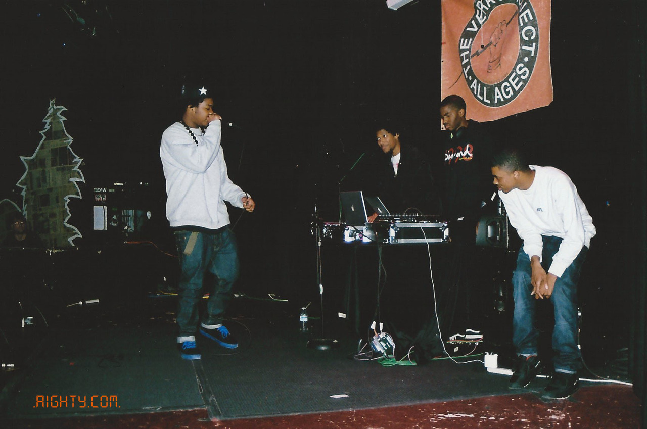 KEY NYATA,VINCE STAPLES,BEEPER KING,AND UZOWURU PERFORMING IN SEATTLE.