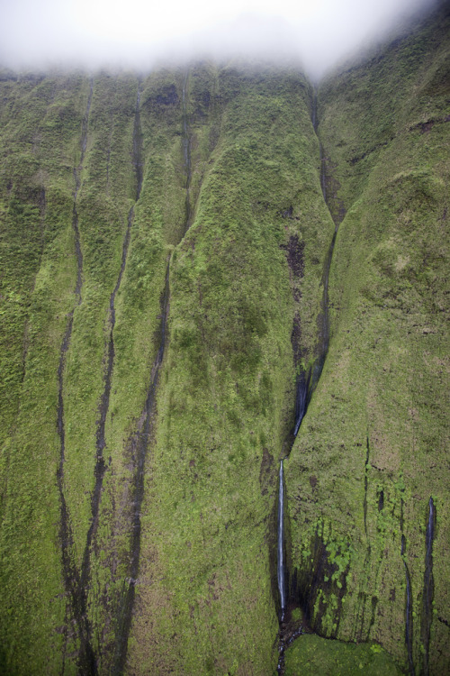 lygophilia:  Waialeale crater, Hawaii photographed by Simon Dubreuil.