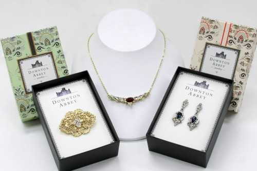 "Downtown Abbey inspired jewellery - pretty, butwould you buy it?   womensweardaily:  1928 Jewelry Co. Inks Deal for 'Downton Abbey' Collection Fans of ""Downton Abbey"" will have a chance to don jewels like those of their favorite characters — at not-so-aristocratic prices. The 1928 Jewelry Co., maker of vintage-inspired fashion jewelry, has inked a license with the show on a collection of jewelry and accessories inspired by the show. For More [above: Pieces from 1928 Jewelry Co.'s Downton Abbey line. Courtesy Photo]"