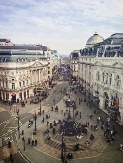 Piccadilly Circus View - London, England | by therealmikeyboy