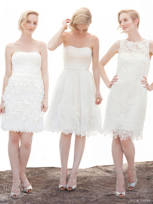 helloweddingdiary:  Ivy & Aster Fall 2013 bridal collection