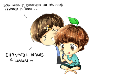 a peek inside the daily life of baekyeol ♥ | requested by baekyeol-anon
