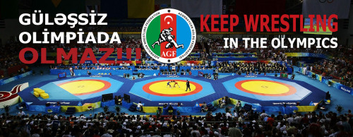 wrestlingisbest:  From Azerbaijan - Keep Wrestling in the Olympics