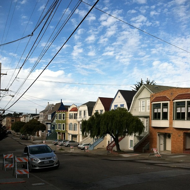 my brothers' street #nofilter #sanfrancisco