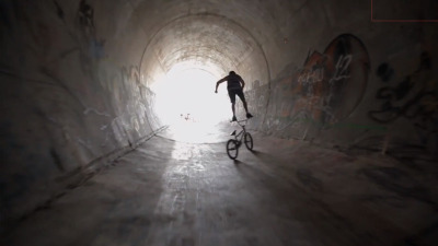 Red Bull Full Circle: Crazy 16ft BMX full pipe loop in the Wyoming countryside