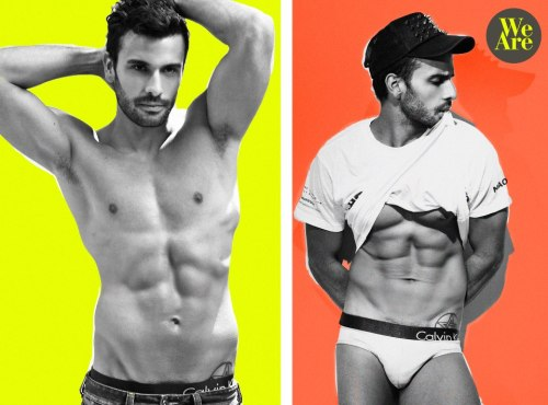 DAVID VARGAS @davidvnegro para WE ARE MODELS @wearejahir