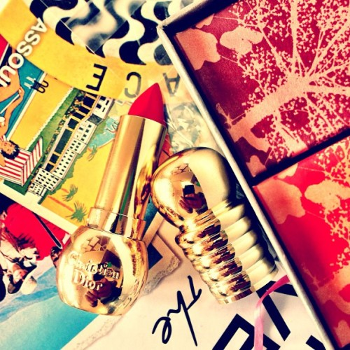 thecoveteur:  Where have you been all our life? 💄💋 cc @diannevavra #Dior #beauty
