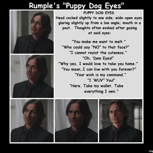 "Rumple and his ""Puppy Dog Eyes"""