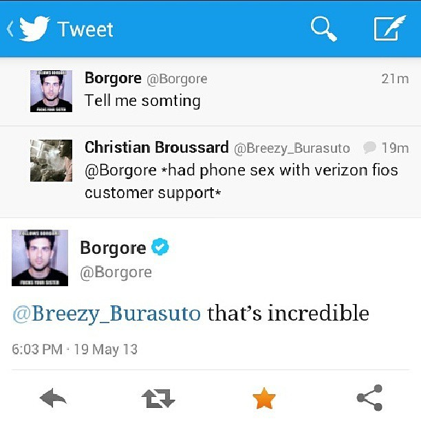 Living life right! #haha @borgore