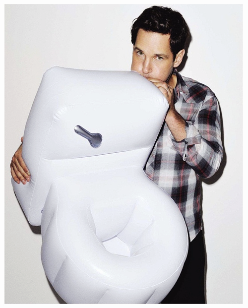 Paul Rudd, GQ (August 2012)