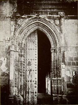 The Portal of the lost boy, which is a doorway of the Cathedral of Toledo