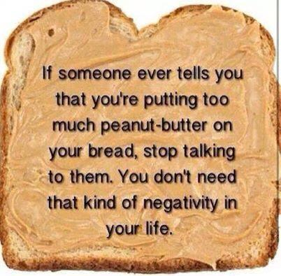 Hi guys, My health blog is a Peanut Butter filled, negativity free zone!