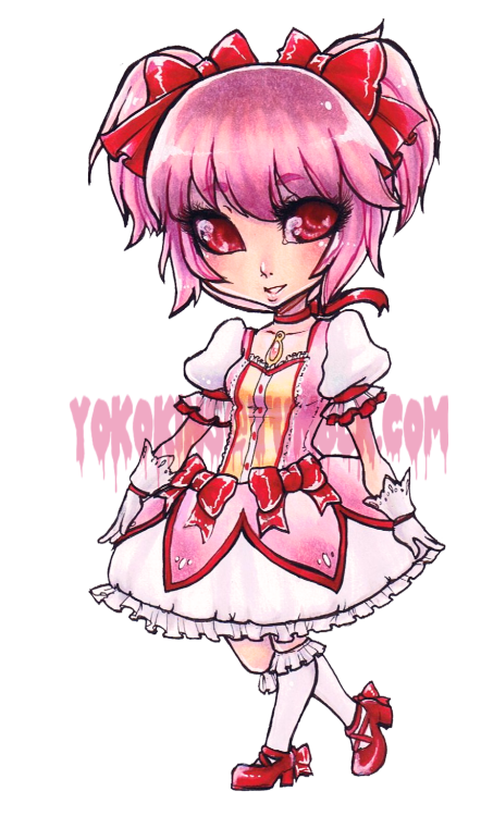 Commission for Starlight Deco Dream.Madoka from Puella Magi Madoka Magica.