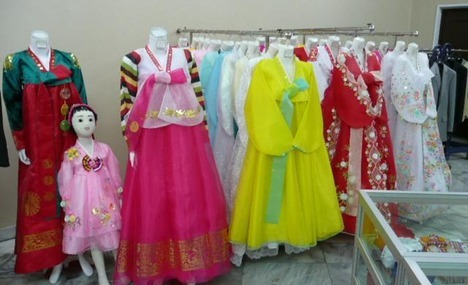 Traditional North Korean costumes