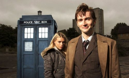 "doctorwho:  David Tennant on filming the 50th anniversary: ""It's lovely to be around Billie again.""  David Tennant seems to have slipped back into his former role – and his costume – very easily, as he films the Doctor Who 50th anniversary special. It's possible it's even made him a little whistful…  ""It is strange being back in the same suit, but it also feels very familiar and comfortable,"" said Tennant, who is currently starring alongside another Who alumnus, Arthur Darvill, in ITV's Broadchurch. ""There's nothing quite like Doctor Who. It has a wonderful excitement about it. I always had happy times there."" Tenth Doctor Tennant will join his successor Matt Smith, along with former companion Rose Tyler, played by Billie Piper, on the celebratory episode, which marks this year's Who half-century in November. ""It's lovely to be around Billie again, even though I see her all the time anyway,"" Tennant told TV & Satellite Week.  Read the rest at Radio Times"