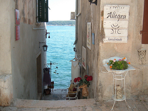 Down to the Sea, Rovinj, Croatia  photo via deborah