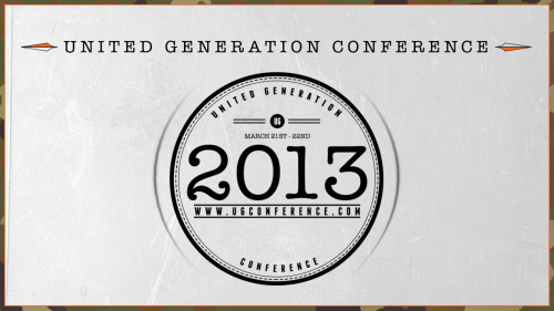 REGISTER HERE FOR UG CONFERENCE 2013!