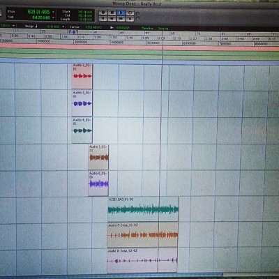 Working on a new one. Smooth and hardcore at the same time. #wrongonez #smartmoney #FAM #NyceHoffa #KeseSoprano #liveviasatellite #HipHop #ProTools #reallybout #onelifetolive
