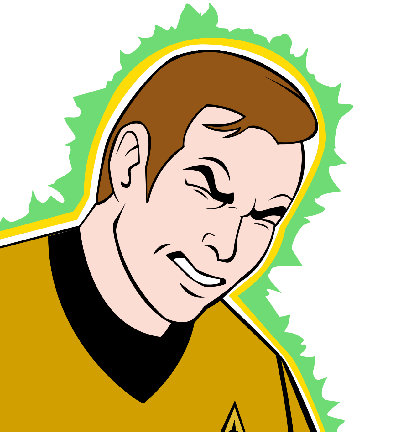 lt-commander-data:  kirk vector by me uvu