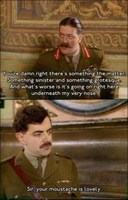 sinefinescrutans:  Thank god for Blackadder