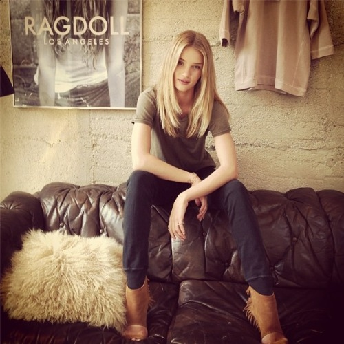 "allaboutrosie:  ""Hanging out with my friends @ragdoll_lawho just launched their line this week! Ragdoll-la.com #congratulations#lisalarson #imaragdoll"""