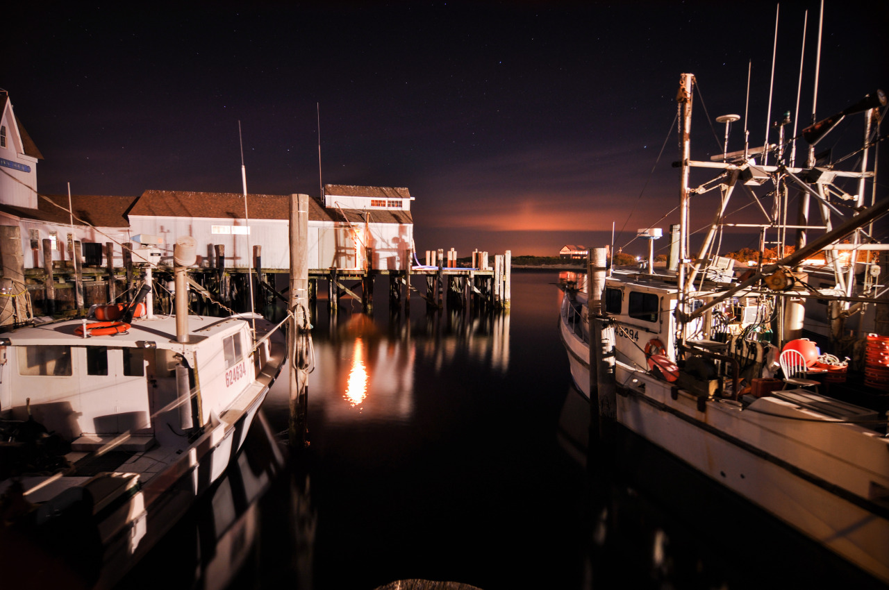 Harbor Night  Montauk, NY