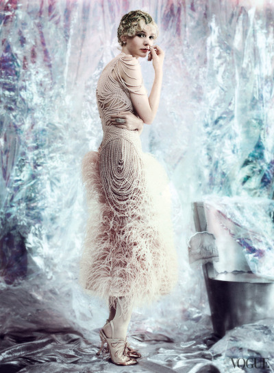 aquarianmermaid:  Carey Mulligan for Vogue May 2013