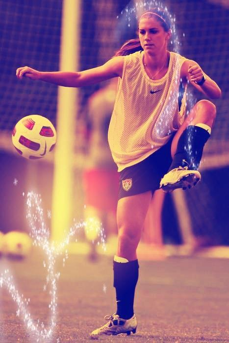 uswntsoccer-is-life-perry:    ♥ She Make Magic ♥