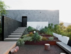 cabbagerose:  geometric desert home, phoenix via: japanesetrash