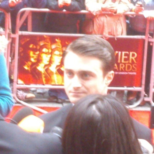Just spotted Harry Potter at olivier awards.  (at Royal Opera House)
