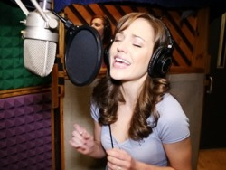 broadwaycom:  Exclusive! Watch Laura Osnes, Santino Fontana and the stars of CINDERELLA record their cast album  THIS IS WHERE MY ITUNES GIFT CARD IS GOING :) <3