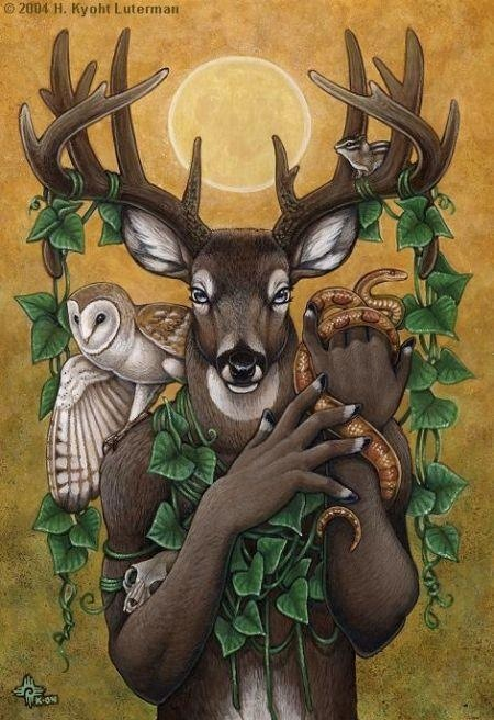 lavadapagan:  Thought everyone would love this pic of our horned Lord. I really haven't been posting as much so enjoy this one! I love this version!